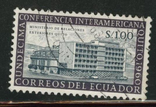 Ecuador Scott 668 used stamp