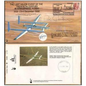 COF53 Last Major Event of 20th Cent Signed by Dick Rutan Only 120 Produced (C)