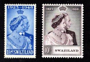 SWAZILAND  SC# 48-49  FVF/MLH