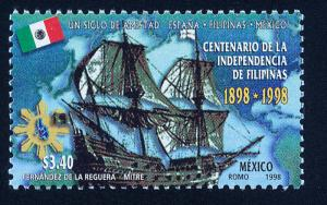 MEXICO 2079, Phillipine Independence Centennial. MINT, NH. VF. (69)
