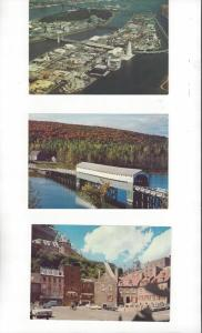 Canada .08 Postal Cards, 5 Dif. With Scenes From Quebec Province Mint