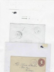 orange new jersey 1885 stamps cover Ref 9669