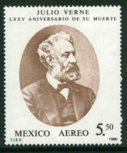MEXICO C634, 75th Anniv of the Death of Jules Verne. MINT, NH. VF.