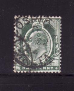 Malta 21 U King Edward VII (C)