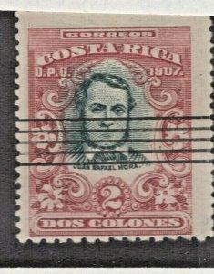 Costa Rica #68 F-VF Used CV. $100    (JH 12/20) GP