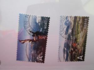 Norway #1504-5 used