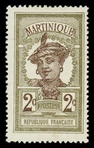 Martinique 63 Unused (MH)