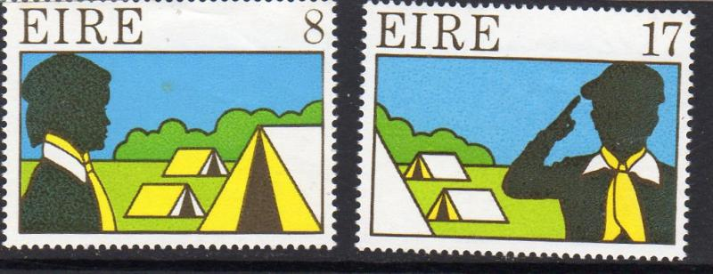 Ireland 1977 Scouting and Guiding  MNH