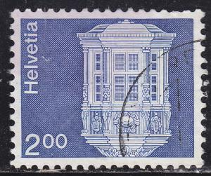 Switzerland 576 Used 1975 Bay Window, Schaffhausen