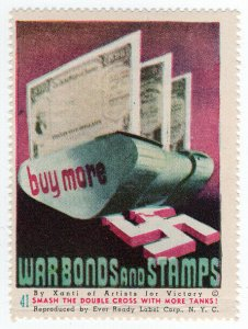 (I.B) US War Cinderella : Ever Ready Series 41 (Buy War Bonds)