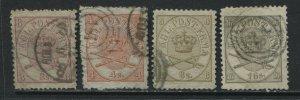 Denmark 1864-68 3 to 16 skillings used