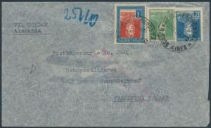 LZ127 ZEPPELIN FLIGHT COVER ARGENTINA TO GERMANY 1934 BR6560