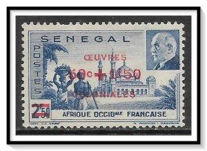 Senegal #B15A Semi-Postal Vichy Issue NG