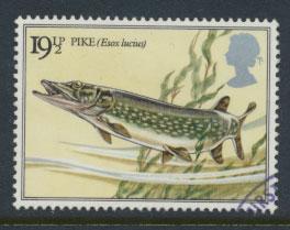 Great Britain SG 1208 - Used - River Fish