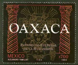 MEXICO 1657, Oaxaca Cultural Heritage. MINT, NH. F-VF.