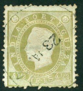 Portuguese India 1886 #175 U SCV (2018) = $1.50