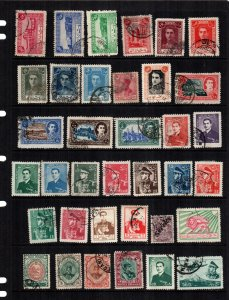 Iran  36  diff used and mint lot collection