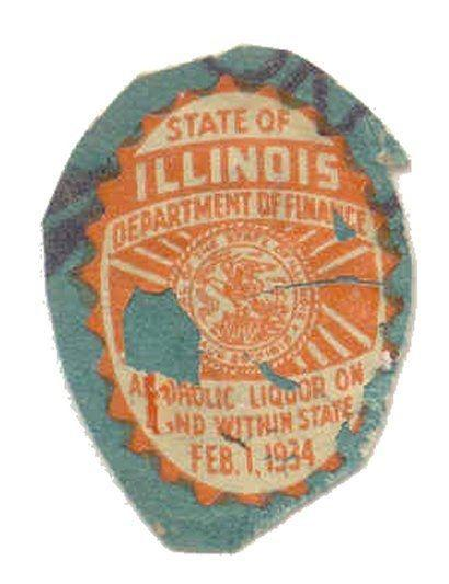 Illinois State Revenue Stamp - Liquor Tax # L1