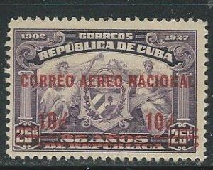 Cuba || Scott # C3 - MH