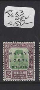 MALAYA  TRENGGANU  (PP0906B)  MBE 25C  SG 53   VFU