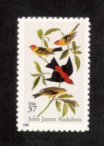 3650 John James Audubon US Single Mint/nh (Free Shipping)