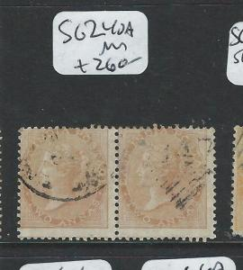 MALAYA PENANG  (PP2308B) INDIA USED IN 147  2A  SG Z40A  PAIR  VFU