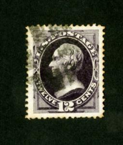 US Stamps # 162 Stunning Jumbo margins