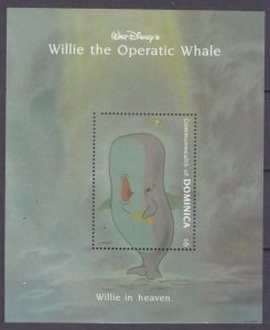 1993 Dominica 1785/B253 Disney - Whale 7,00 €