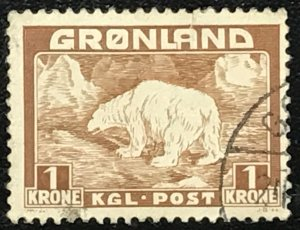 Greenland #9 Used CV$8.50 Polar Bear
