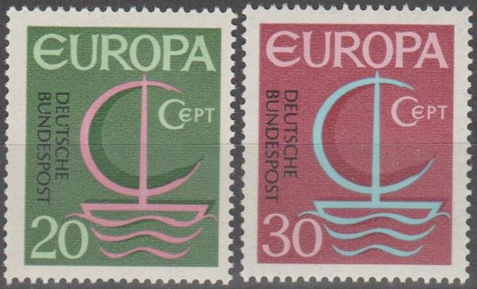 Germany #963-4 MNH F-VF (ST2474)