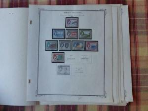 Virgin Islands 1883-1980 Mint/Used Stamp Collection on Scott Speciality Album Pa