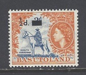 Basutoland Sc # 57 mint never hinged (DT)