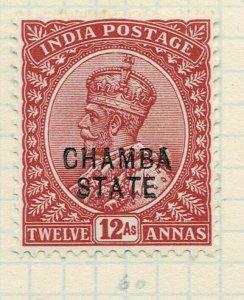 india chamba states- sg 52 -  lmm