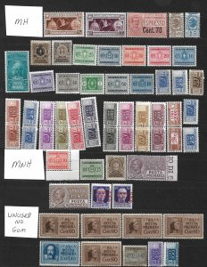 COLLECTION LOT OF # 828 ITALY 61 BOB  STAMPS 1913+ CLEARANCE