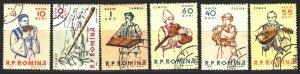 Romania. 1961. 1997-2002. Folk musical instruments, folklore. USED.