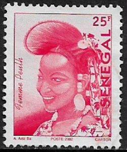 Senegal #1486 Used Stamp - Senegalese Fashion