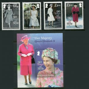 British Antarctic Territory 2016 Queen Elizabeth Fashion With Sheet Mint NH