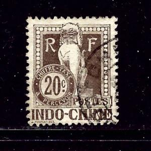 Indochina J10 Used 1908 issue