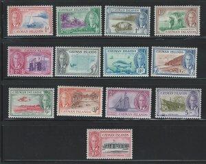 Cayman Islands mnh sc 122 - 134