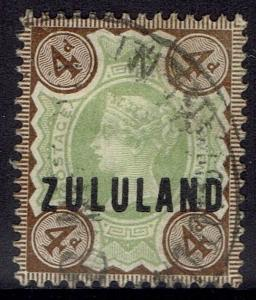 ZULULAND 1888 QV GB 4D USED