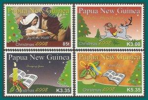 Papua New Guinea MNH 1350-3 Christmas 2008