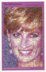 Zambia - 1999 Princess Diana Photomosaic - 8 Stamp Sheet - 26A-003