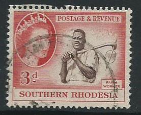 Southern Rhodesia SG 81  VFU