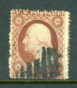 #26 with IMPRINT - Great stamp - Plated 60R24