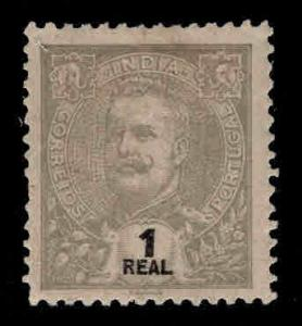 Portuguese India Scott 197 MH* King Carlos stamp