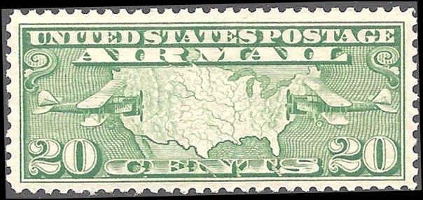 C9 Mint,OG,NH... SCV $12.50... VF/XF