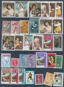 64 WW MINT STAMPS AT A LOW PRICE LOOK!!!