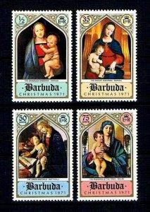 BARBUDA - 1971 - CHRISTMAS - MADONNA - VIRGIN & CHILD - MINT MNH SET!
