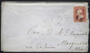 Cover - Sc# 94 F Grill - Inland Iowa - DPO 6   S124