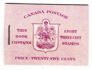 BK46 (English), Queen Elizabeth, Karth Issue, 1953, Canada, 2 panes of 4, 327b